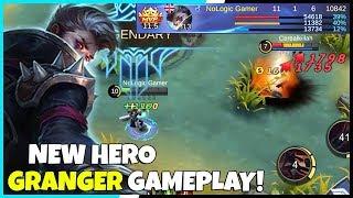 new hero granger full gameplay 11 1 6 kda mobile legends gameplay mlbb
