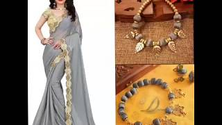Navratri Day 13-10-2018 ||Beautiful  Grey Color All Collection For Womens||