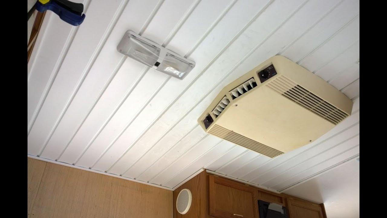 Jayco Kiwi 17a Ceiling Repair Cheap Easy Method Youtube