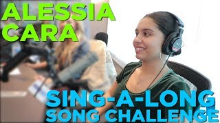 Alessia Cara Takes The Sing-A-Long Song Challenge