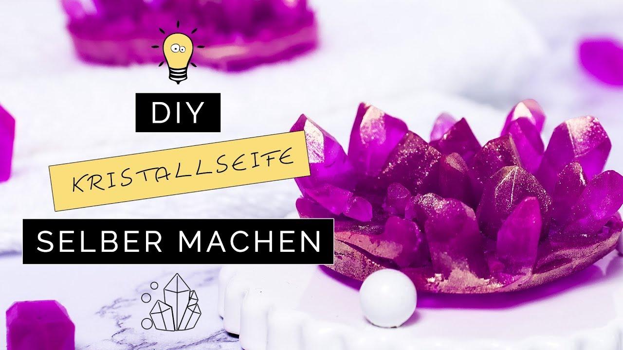 DIY Kristall Seife Selber Machen | Wellness U0026 Deko | DIY Geschenkidee Für  Valentinstag U0026 Muttertag