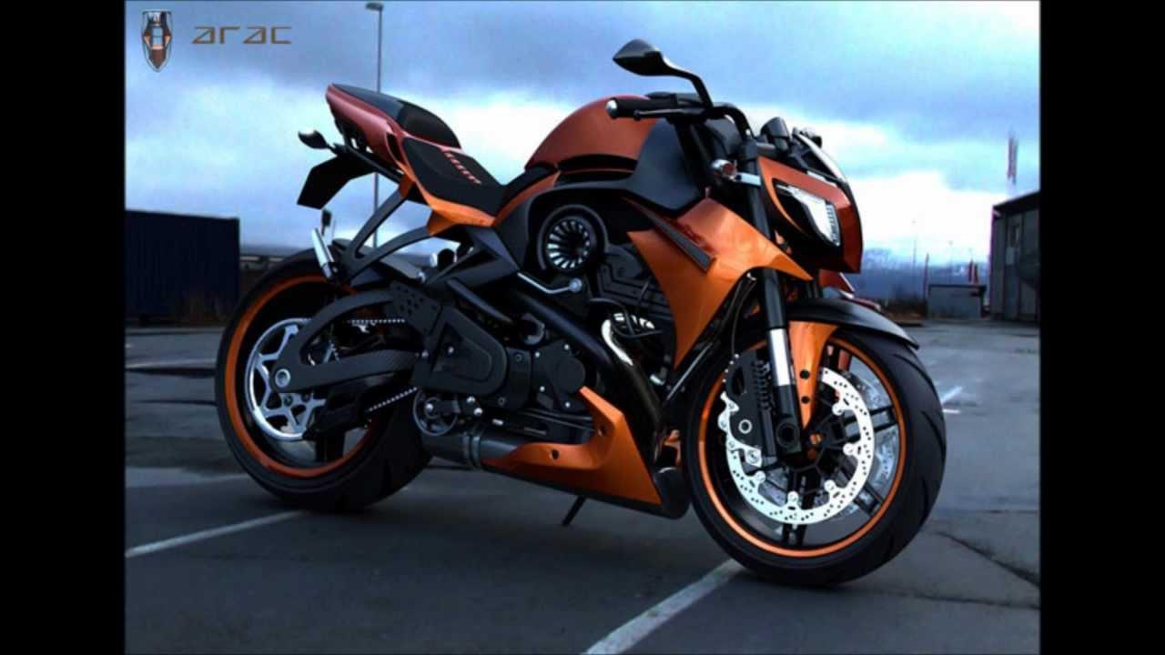 ARAC ZXS Motorcycle - YouTube