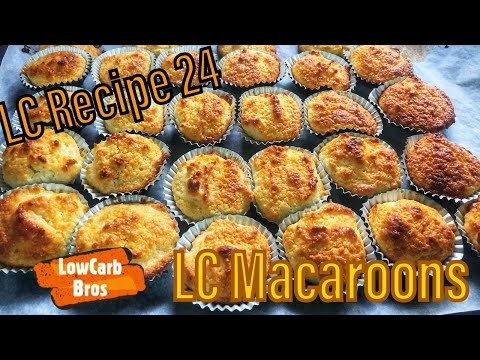 Paano Magluto ng Low Carb Macaroons LC Recipe 24 | LCIF Association