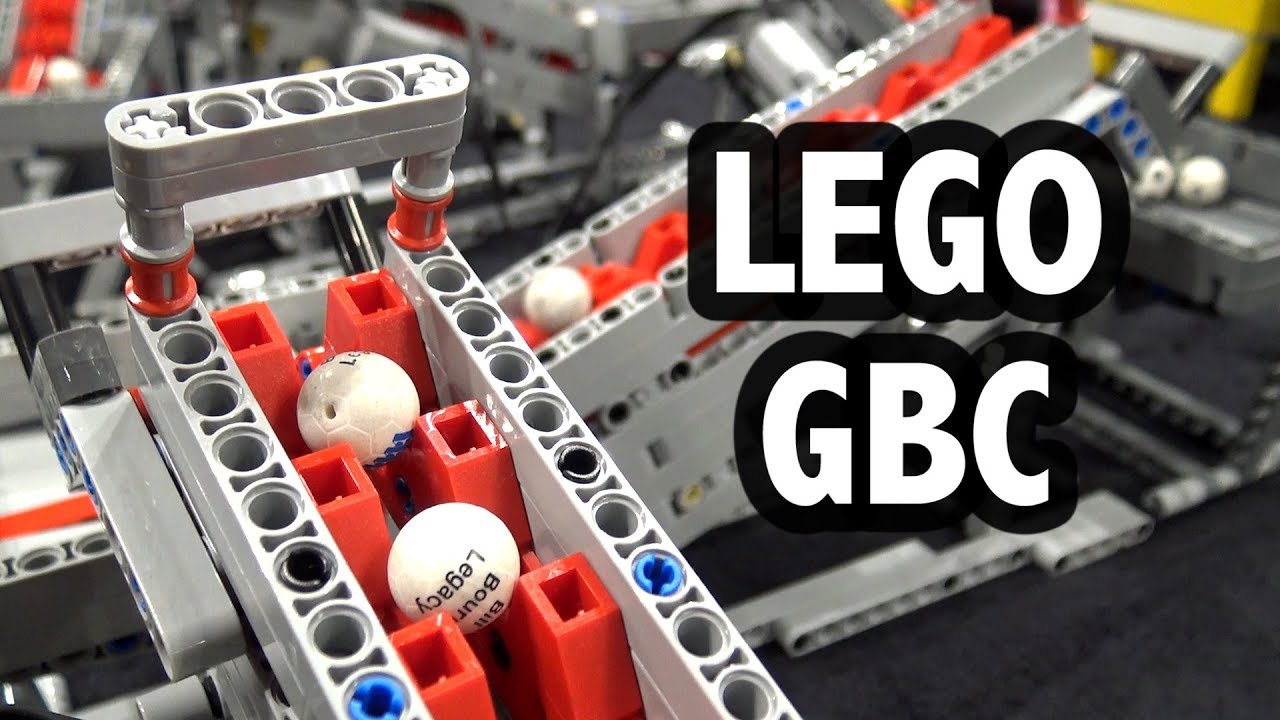 WORLD RECORD! LEGO Great Ball Contraption @ Brickworld Chicago 2019