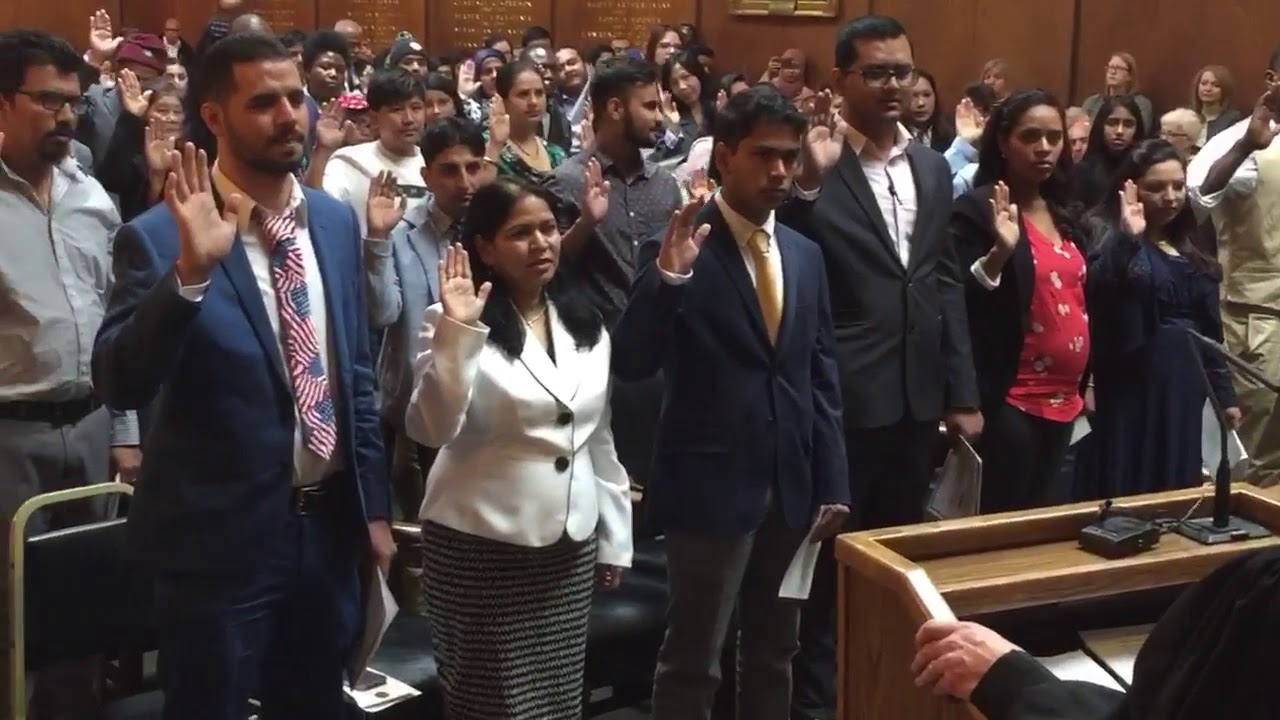 Dauphin County naturalization ceremony, April 15, 2019