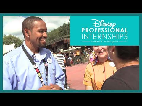 Disney Professional Internships: Management