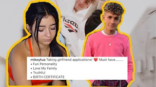 Mikey Tua Is Looking For A New Girlfriend *Has To Have A Birth Certificate* + SHE BLOCKED ME!!