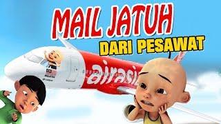 Mail Jatuh dari pesawat Upin ipin sedih GTA Lucu