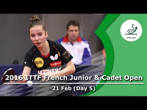 2016 French Junior & Cadet Open - Day 5 LIVE