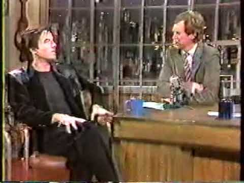 Pierce Brosnan on Letterman  (1985 )
