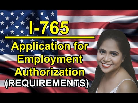 ead form i 765 application for employment authorization cover ...