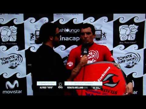 Entrevista Renato Arellano, Arica Chilean Challenge 2013,  IBA world tour.