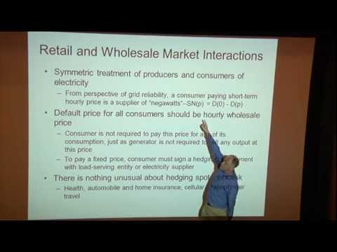 Frank Wolak, Using Economics to Increase the Intelligence of the Smart Grid