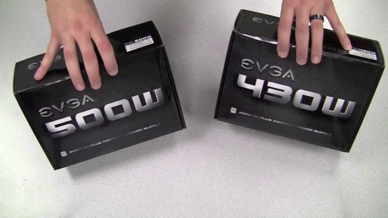 maxresdefault evga 500w 430w power supplies! youtube  at creativeand.co