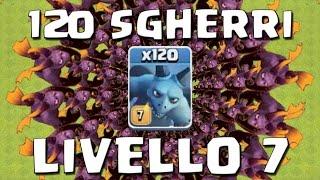 120 SGHERRI LIVELLO 7 in Lega TITANO - Clash of Clans