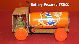 vuclip How to make a Battery Powered Truck - Easy