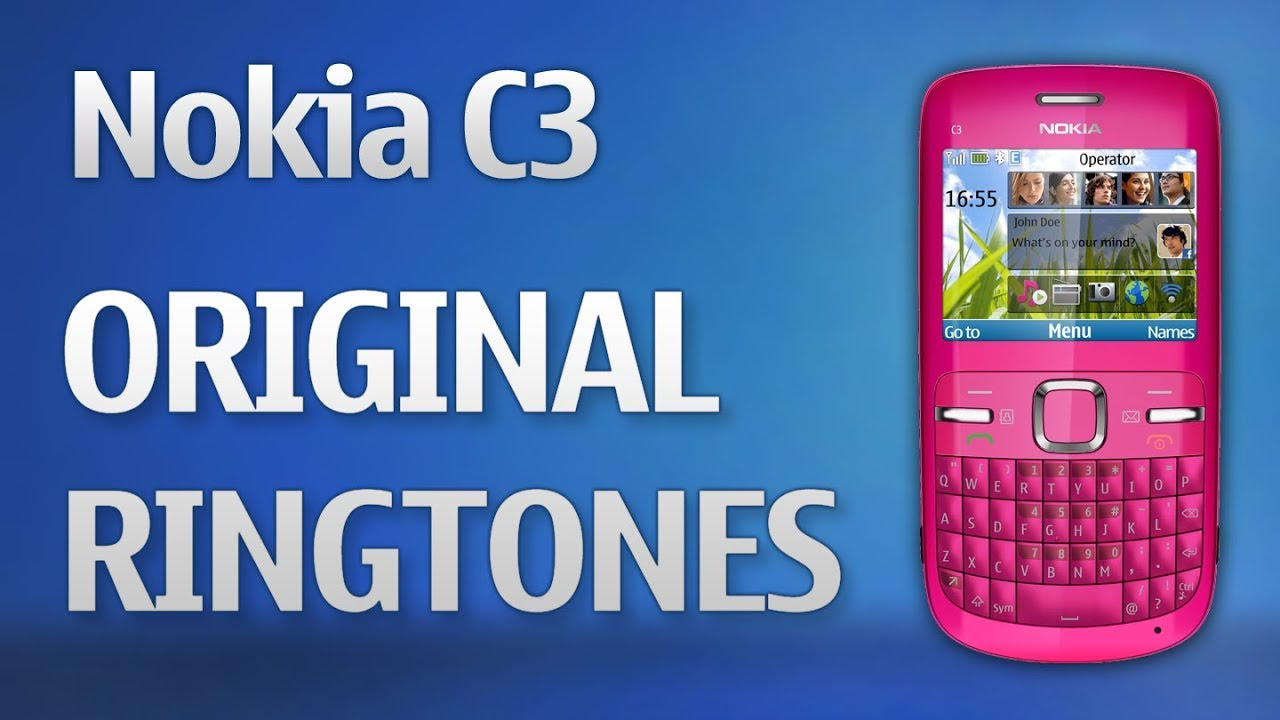 toque de mensagem para celular nokia c3