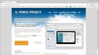 Crear un boceto de una página WEB con Pencil Prototype
