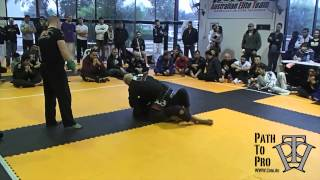 BJJ Black Belt Match   Kit Dale vs Walber Tete SkaMMA July 2013