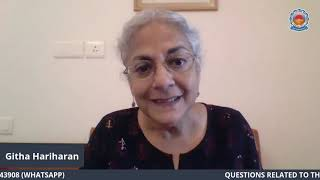SPECIAL LECTURE: GITHA HARIHARAN