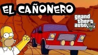 GTA V | Parodia de Los Simpsons Cañonero Ps3