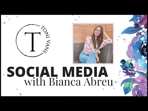 Social Media Training with Bianca Abreu