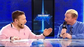 aj styles must defend his wwe world title against james ellsworth wwe talking smack oct 11 2016