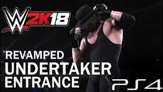 WWE 2K18 - Undertaker Revamped Entrance (PS4)
