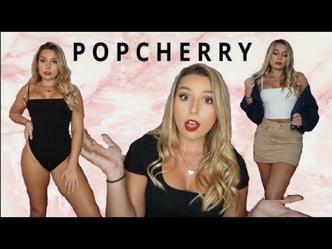 POPCHERRY HONEST REVIEW TRY ON HAUL| Australian Brand