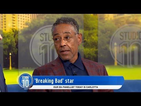 Giancarlo Esposito Talks 'Breaking Bad' & 'Better Call Saul' | Studio 10