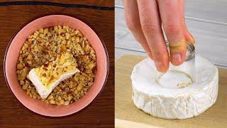3 простых рецепта для сырных закусок которые понравятся всем