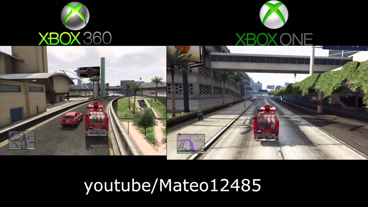 Gta  Xbox One Gameplay Leaked Graphics Compared To Xbox  Gta V Xbox One Youtube