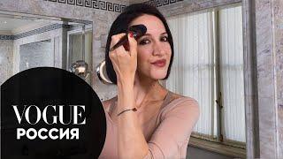 Секреты красоты Матильда Шнурова показывает как сделать вечерний макияж
