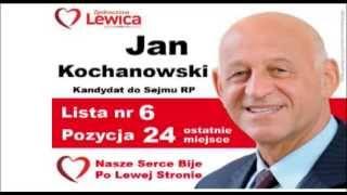 Wybory 2015 - J. Kochanowski, kandydat do Sejmu, Zjednoczona Lewica