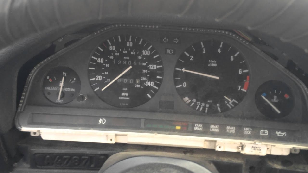 Turbo E30 idle and revs 8 degrees running rich!!