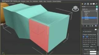L'application des Groupes de Lissage Pour Faible Polygone de Modélisation - 3DSMax2012
