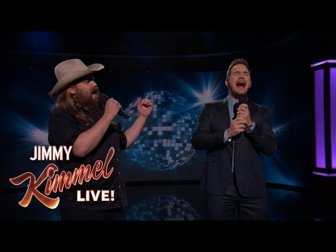 "Guest Host Chris Pratt & Chris Stapleton Sing ""(I've Had) Th"