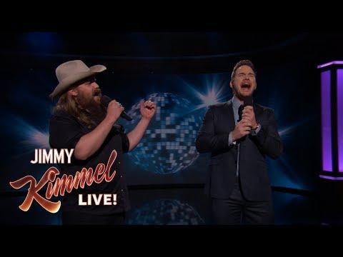 "Guest Host Chris Pratt & Chris Stapleton Sing ""(I've Had) The Time of My Life"""