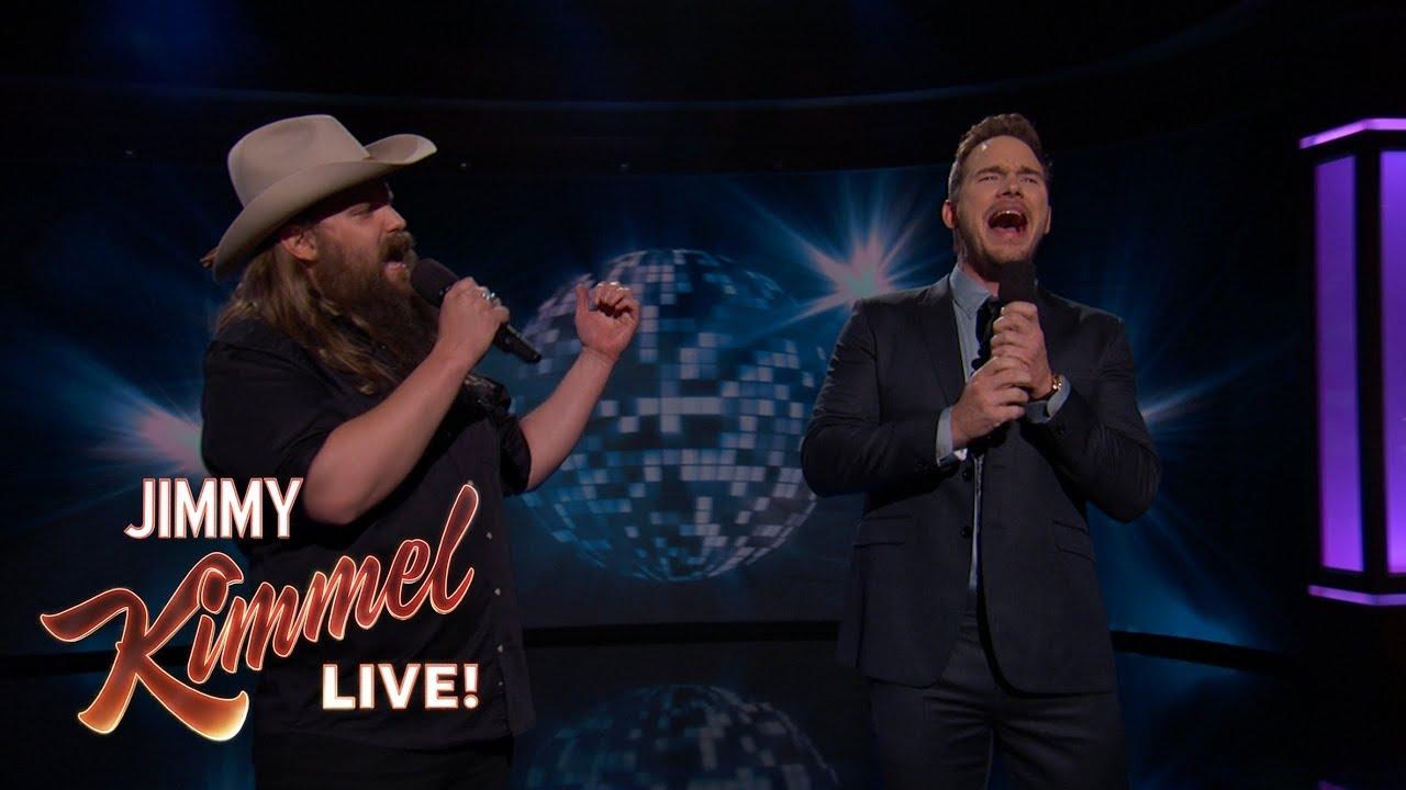 "Download Guest Host Chris Pratt & Chris Stapleton Sing ""(I've Had) The Time of My Life"""