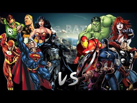 Los Vengadores vs La Liga de la Justicia. Épica Batalla Final de Rap del Frikismo | Keyblade & Otros