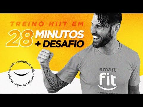 Na mais alta #EnergiaProVerão | Treino HIIT em 28 minutos + Desafio Final - Smart Fit