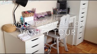 Storage And Collection: Makeup, Nail Polish, Hair Care ♡ {vanity Tour - Feb 2014} ♡ Jessica Joaquin