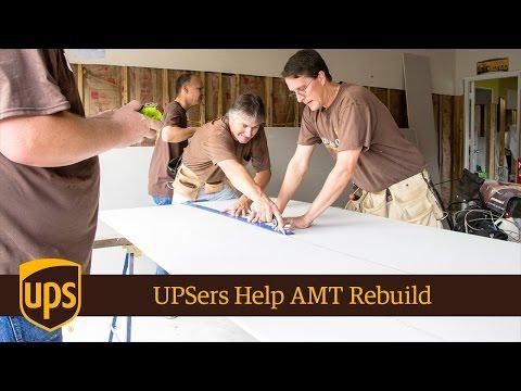 UPSers From Seven Gateways Help AMT Rebuild After Flood