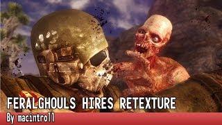 FeralGhouls Hires retexture - Fallout New Vegas - Mod Spotlight
