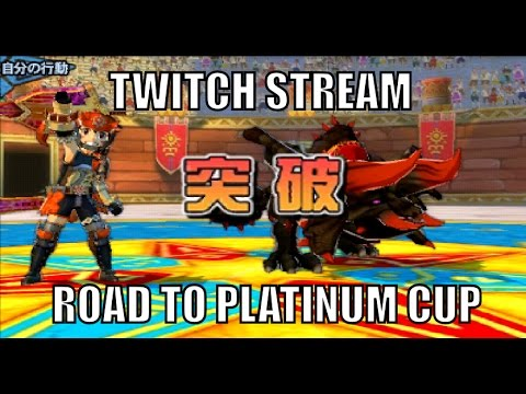 MHST - Twitch Stream - Arena Battle - Road to Platinum cup!