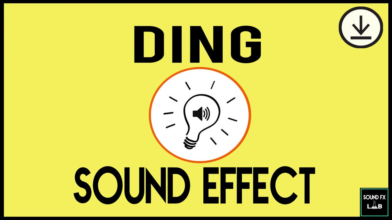 idea ding sound effect free download