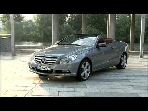 2010 Mercedes E Cl Convertible Driving Footage