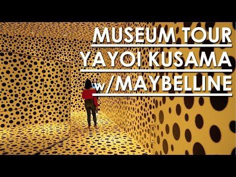 REVIEW YAYOI KUSAMA DI MUSEUM MACAN JAKARTA BERSAMA MAYBELLINE IT SQUAD