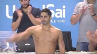 L'addio di Filippo Magnini al nuoto agonistico.