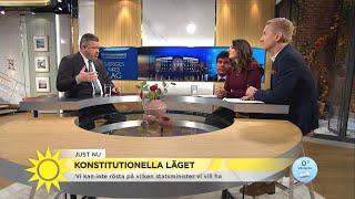 """Stefan Wahlberg: """"Talmannen kan lansera vilken statsministerkandidat han vill"""" - Nyhetsmorgon (TV4)"""
